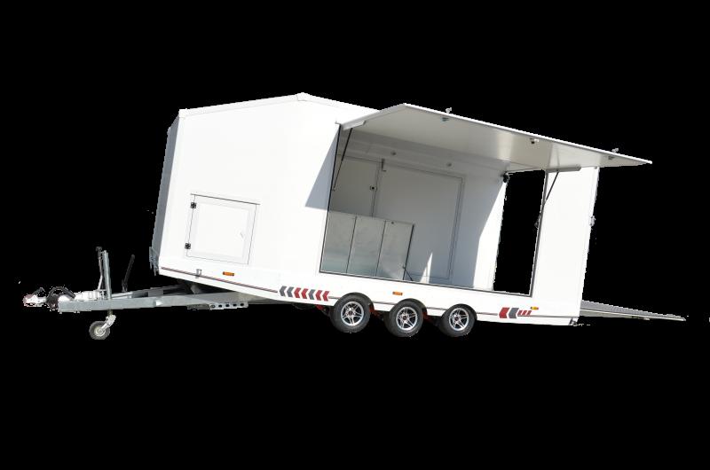 TA-NO Sport Autotransporter Koffer geschlossen 3500 kg