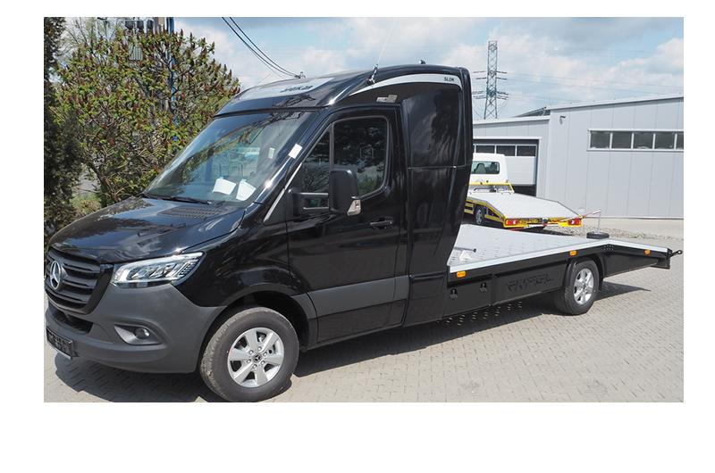 Autotransporter_Mercedes-Benz-Sprinter-319-Schlafkabine-Model-2020-Vollverkleidung_front